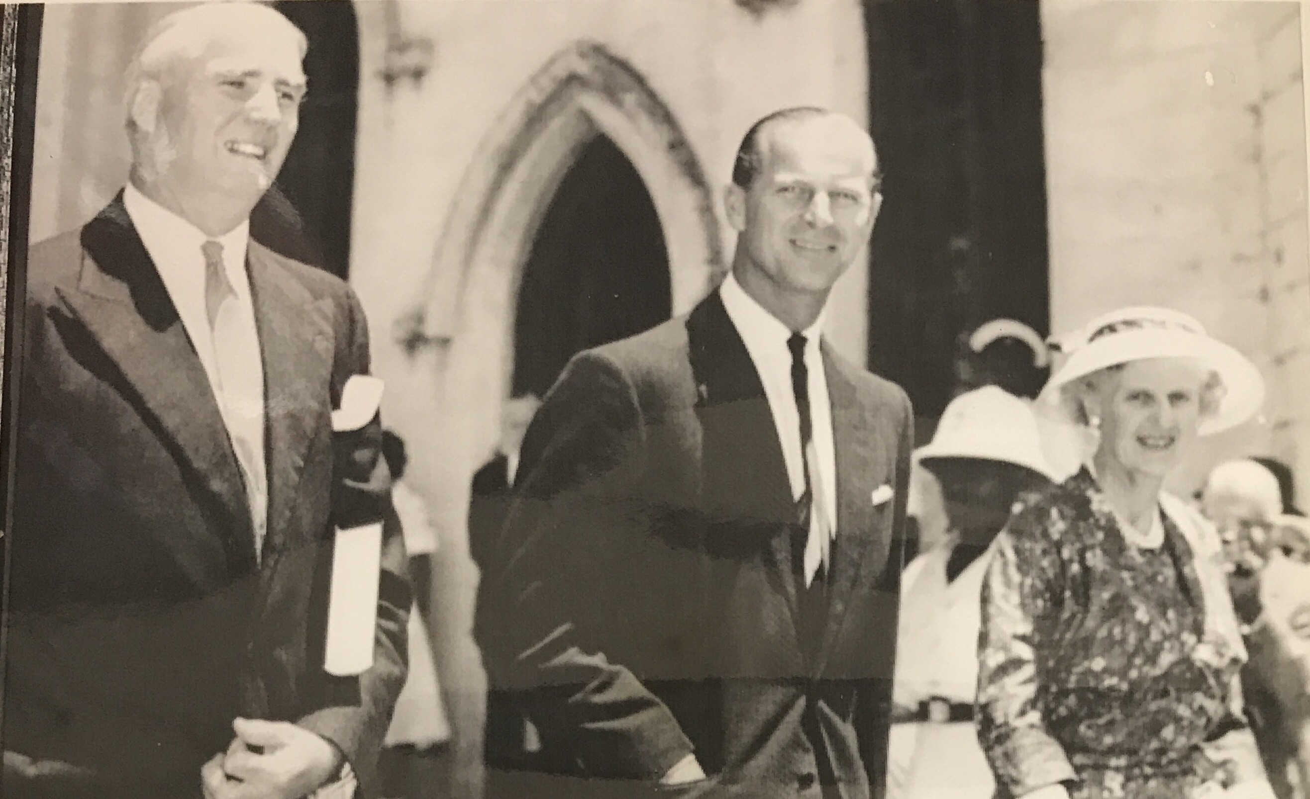His Royal Highness Prince Philip of England on official visit to the Bahamas 1959