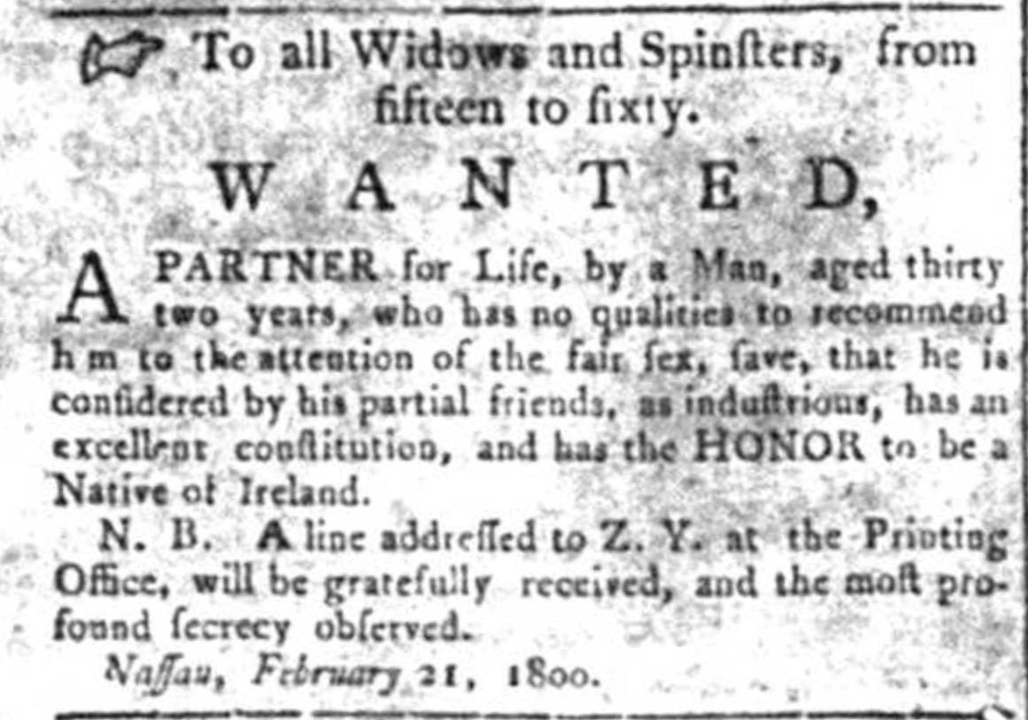 Looking for Love Nassau Bahamas 1800
