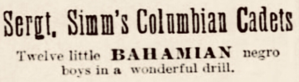 Twelve Little Bahamian Negro Boys 1893
