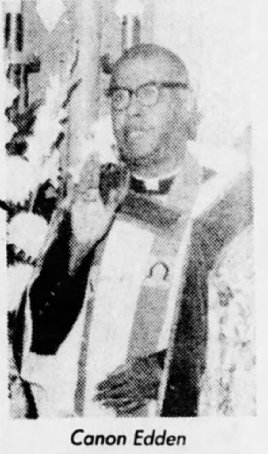Rev. James A. Edden two bronze stars for valor WWII and Korean War 1960