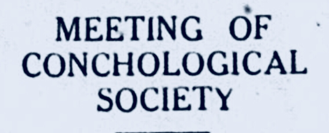 Conchological Society of New Providence