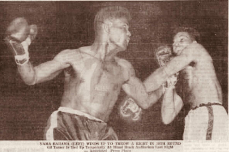 "Bimini Boxing Sensation ""Yama Bahama"" 1956"