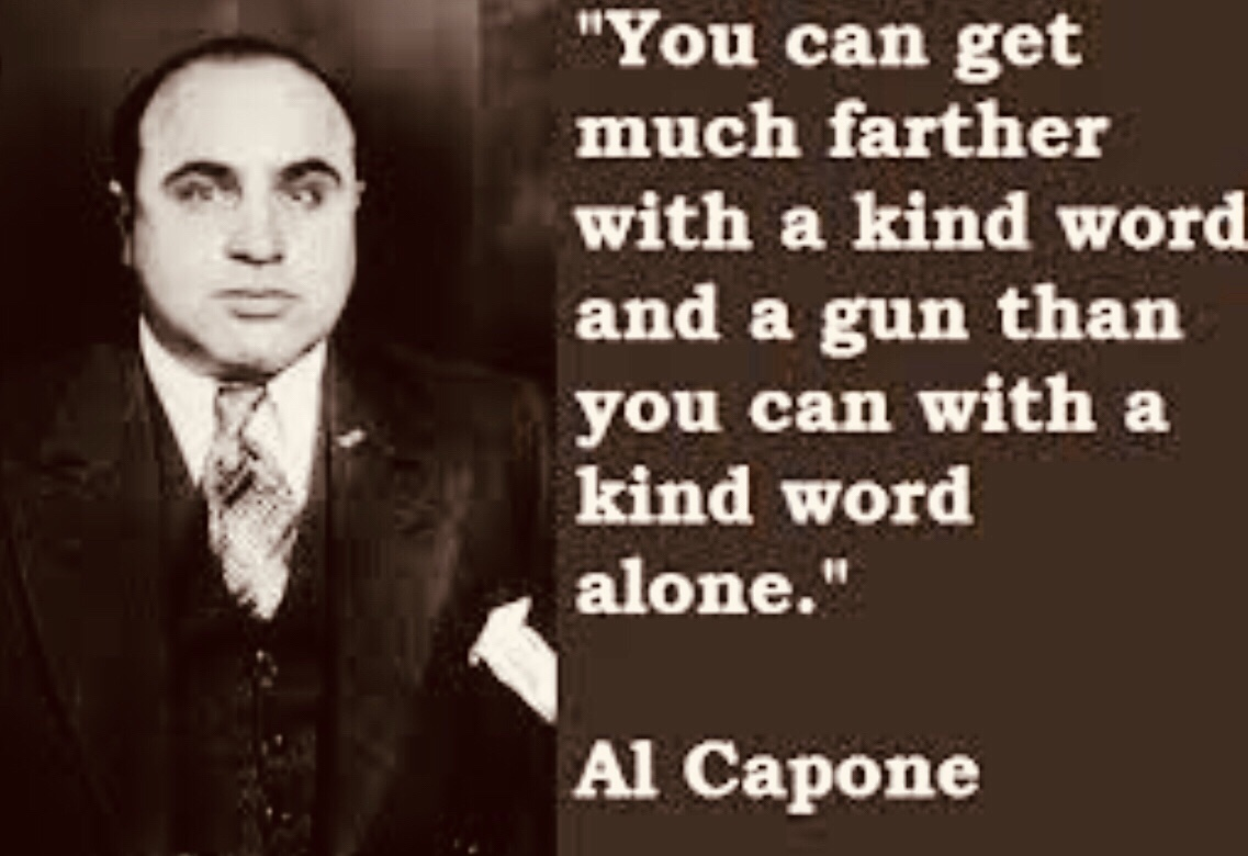 Al 'Scarface' Capone buys Bahamas island but forbidden to live there 1929