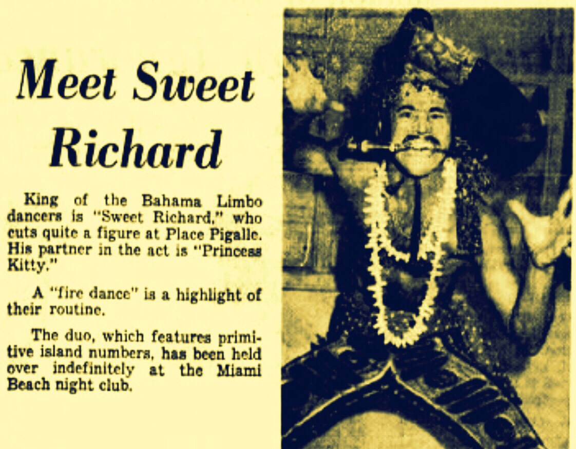 Oh Lawd! Sweet Richard Gone 1964