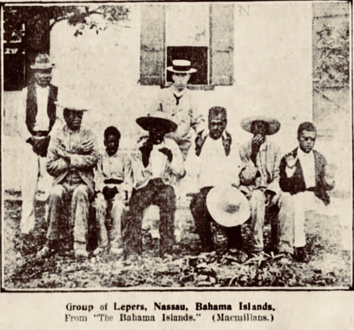Leprosy in the Bahamas 1905