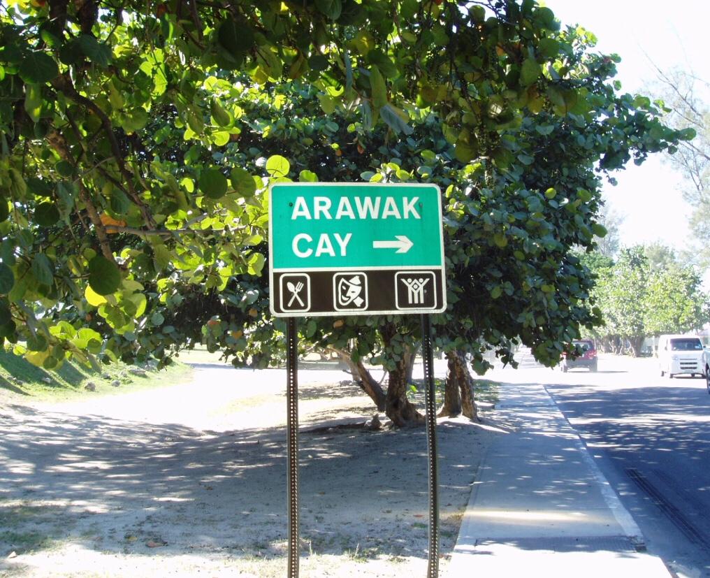 Kelly Island renamed Arawak Cay, Nassau 1969