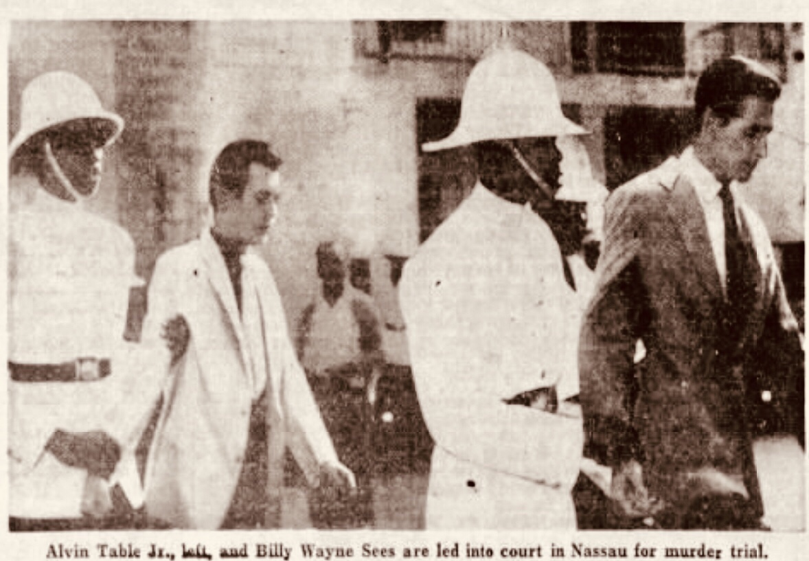 First White Men Hung in the Bahamas in 200 years 1961