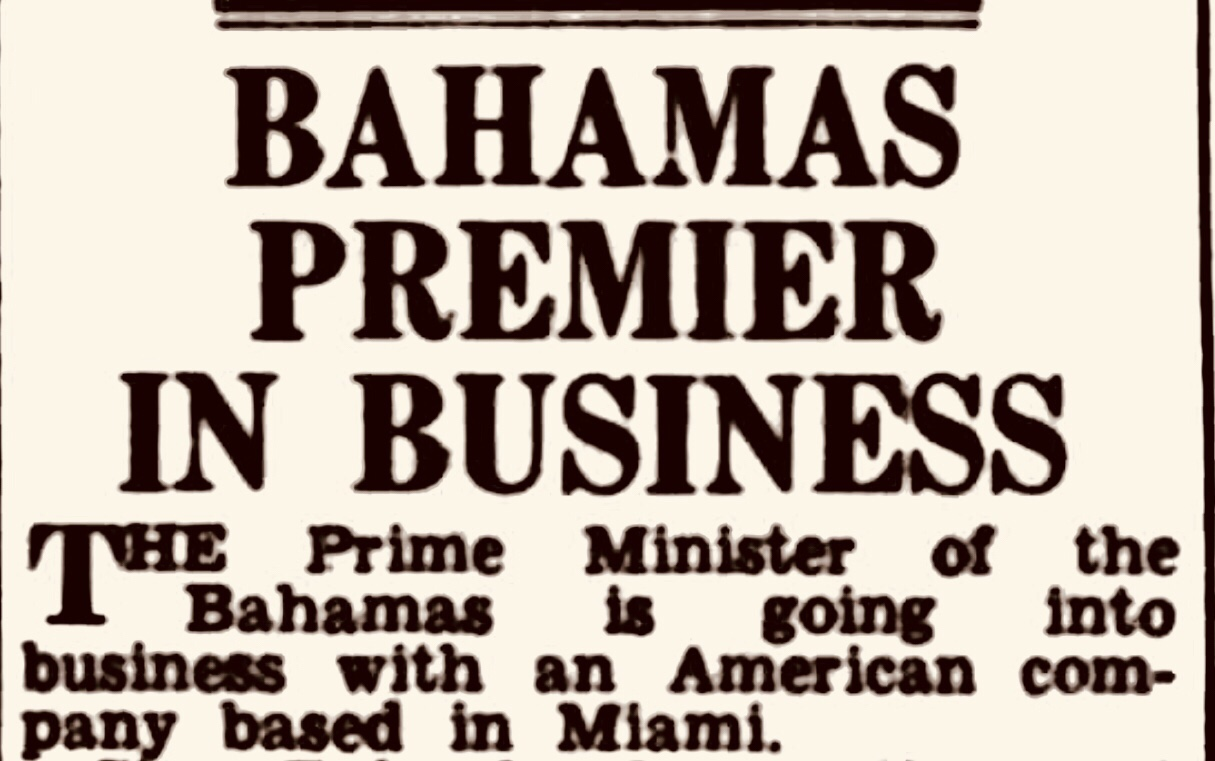 Blurred Lines between Business and Politics 1964