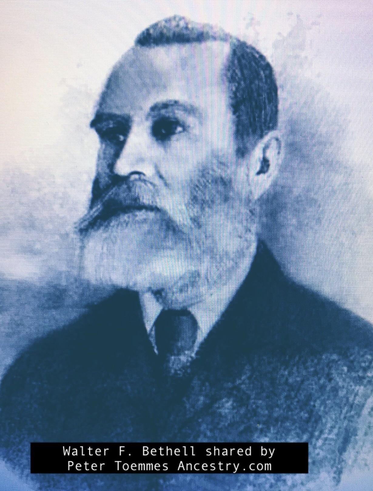 The Tragic Death of Walter Ferdinand Bethell M.L.A., 1908