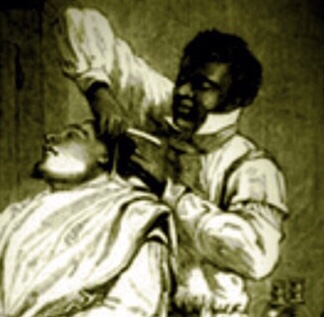 Lewis, a Negro Hairdresser Owes His Master Money 1817