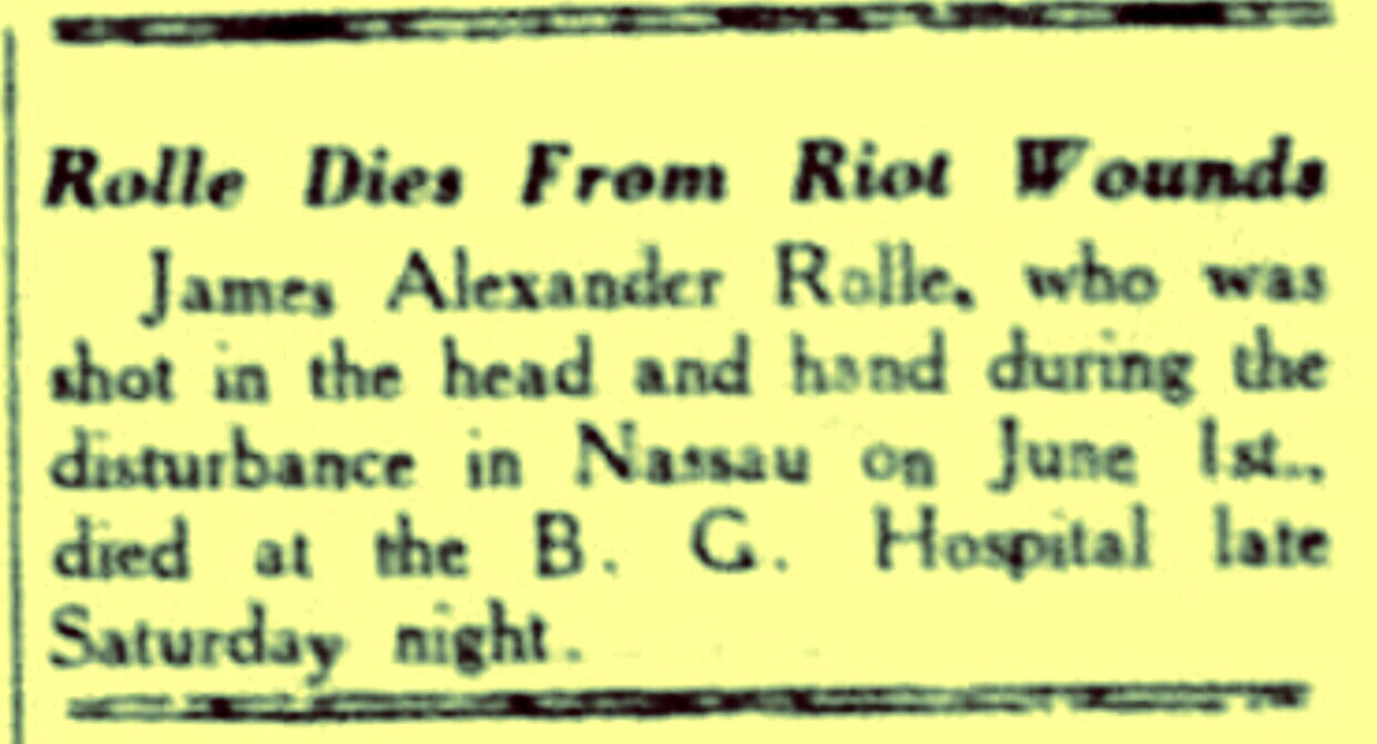 Burma Road Riot: 5 Negroes Shot Dead and 30 White Men Injured 1942