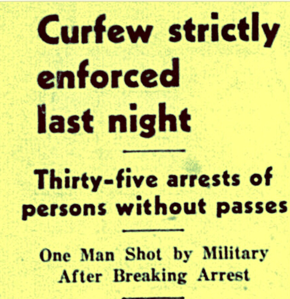 Burma Road Riot: R. T. Symonette among Curfew Breakers 1942