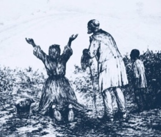 News of Negro Freedom Arrives at Turks Island 1838