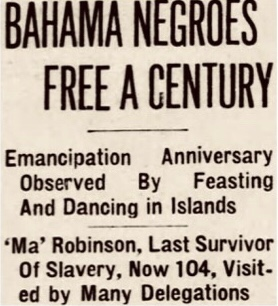 Blacks Celebrate Freedom Whites Celebrate Enlightenment – Emancipation Day 1937