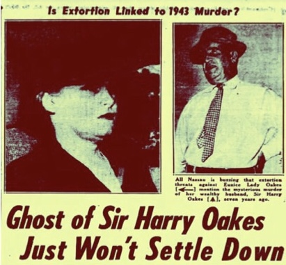 """Wasn't Me. One White Man Did It"" Said Negro Church Deacon Convicted Of Extortion Of The Widow of Sir Harry Oakes 1950"