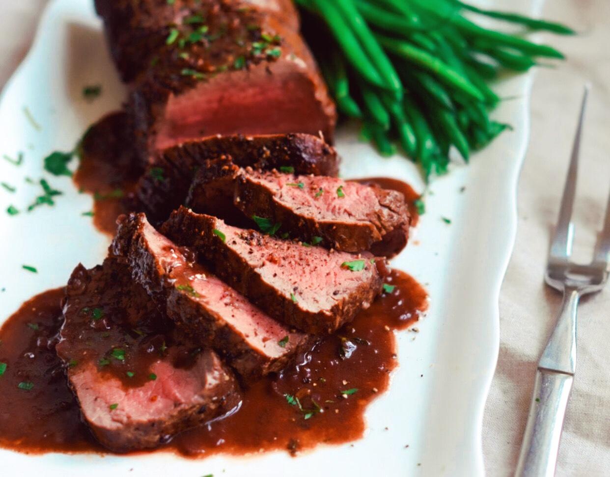 Sliced Beef Tenderloin À la Pindling February 10th 1967
