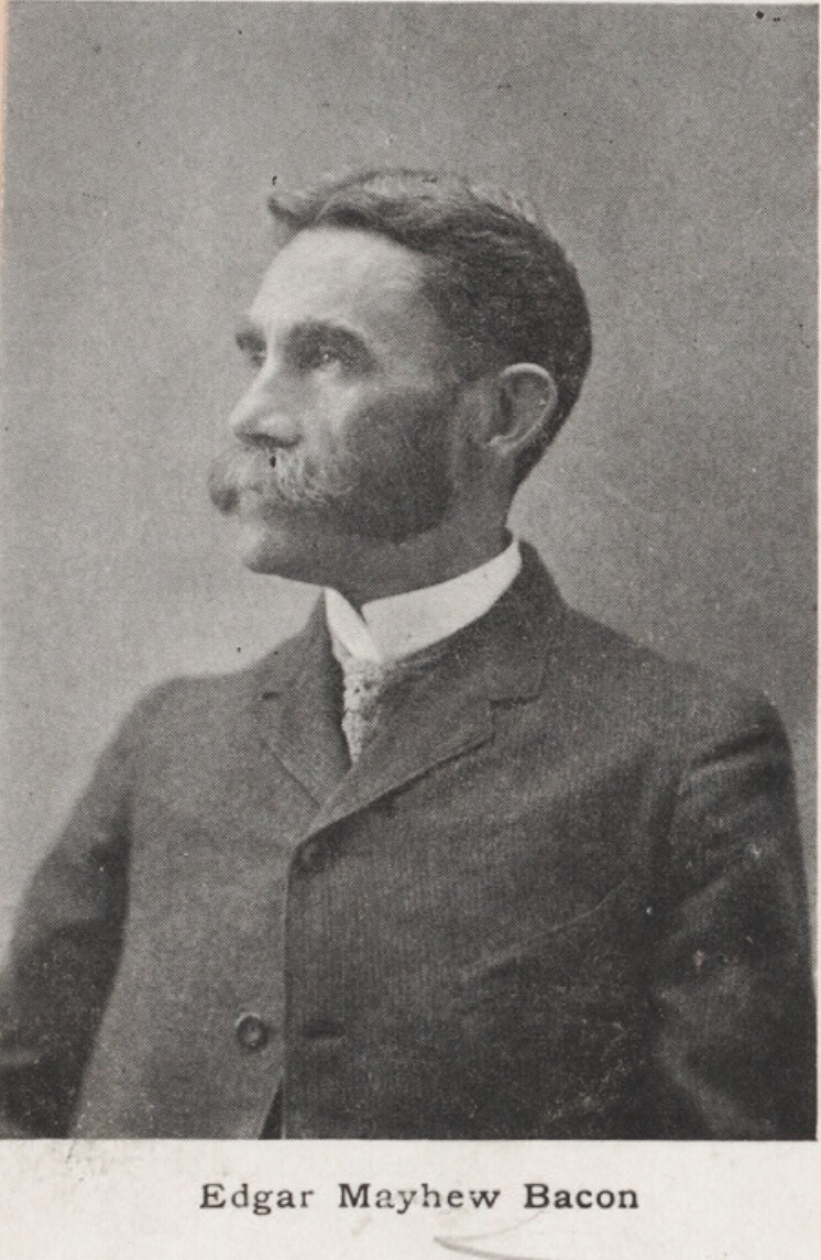 Edgar Mayhew Bacon, Third Generation Bahamian and Prolific American Writer 1889
