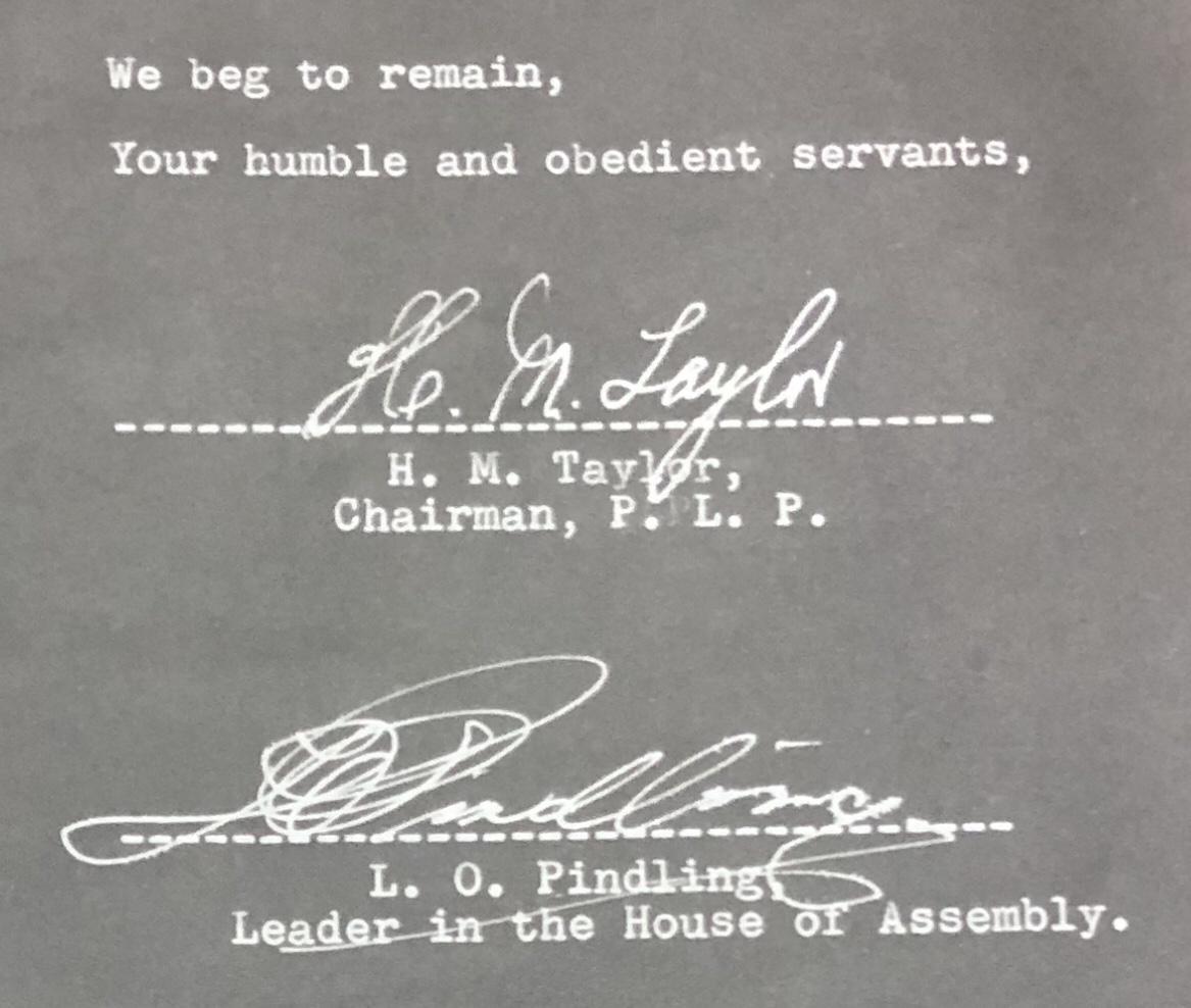 Secret Political File on Progressive Liberal Party 1957 Declassified (London) 1988