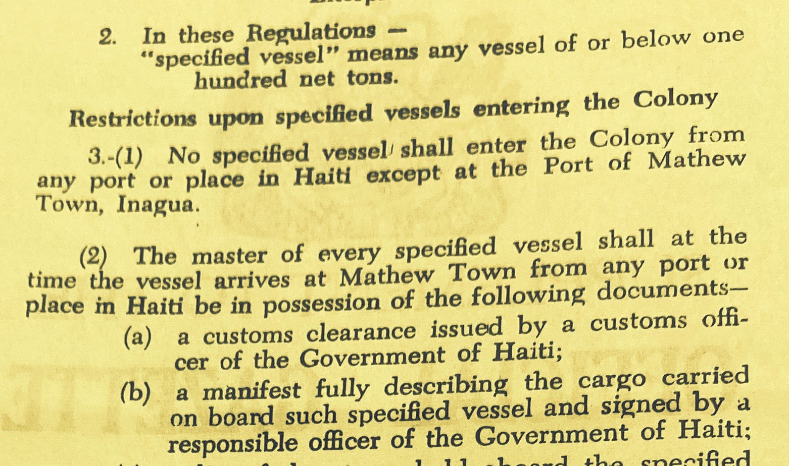 Illegal Haitian Immigration into The Bahamas, Britain Gives Up, Leaving It To An Under Resourced Bahamian Government 1963 – 1965