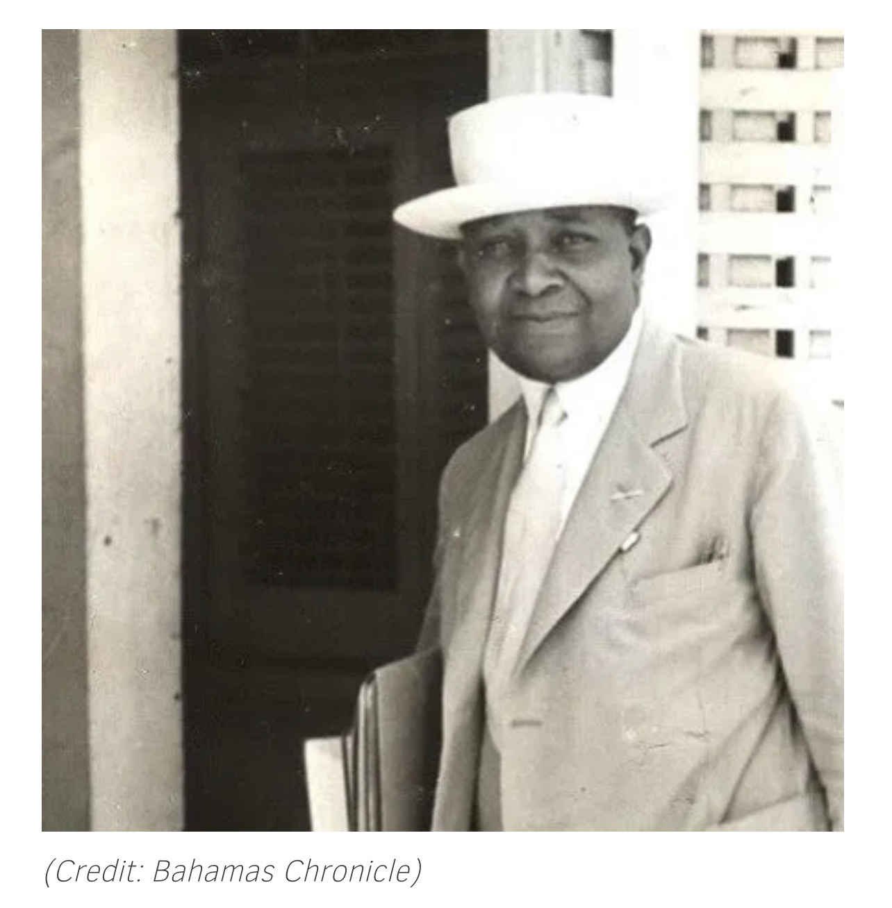 Earliest Black Student at St. Catherine's College Cambridge was Bahamian Alfred Francis Adderley 1912